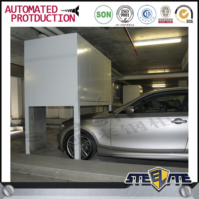 Modern space saving furniture car equipment used iron or for Over car garage storage