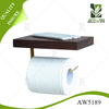 Hot Sell Wood Paper Roll Holder For Home Use