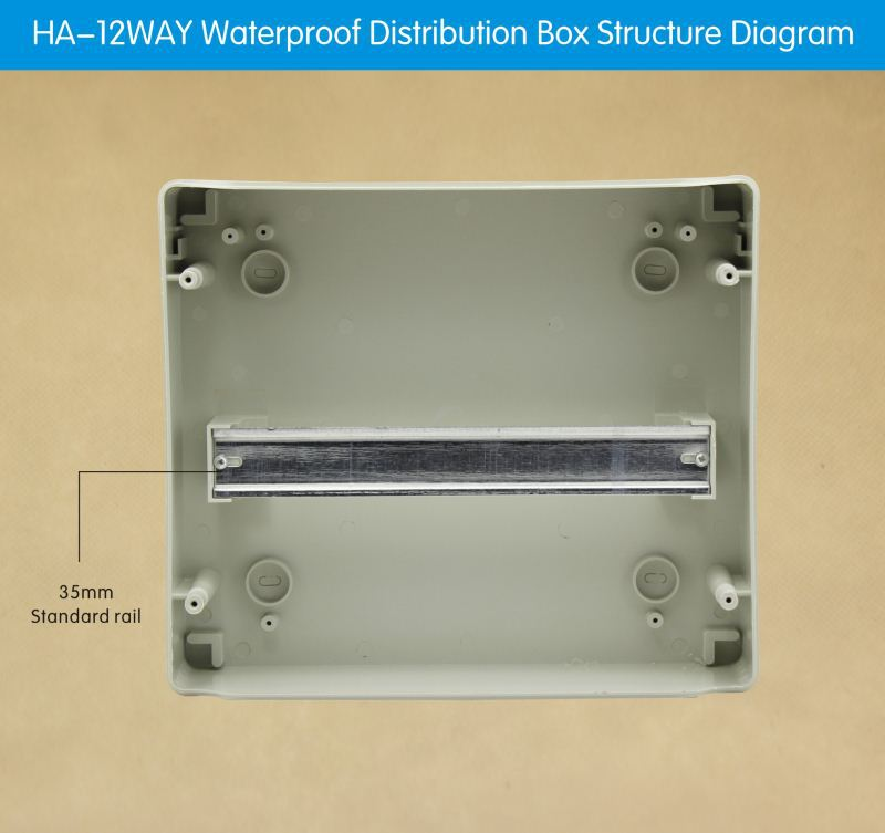 4 Way To 36 Circuit Breakers Electrical Panel Board Distribution Box