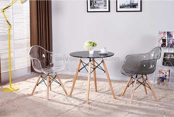 Replica Designer Furniture Durable Cheap Plastic Chairs Plexiglass  Polycarbonate Crystal Chair