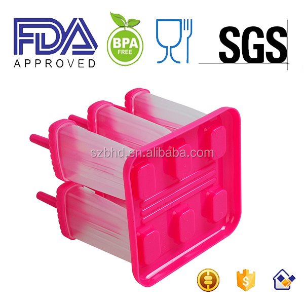 Repeated Use Plastic Popsicle Ice Cream Stick Mould