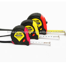 OEM factory 3m/5m/7.5m/10 rubber cover measuring tape with 3 brakes