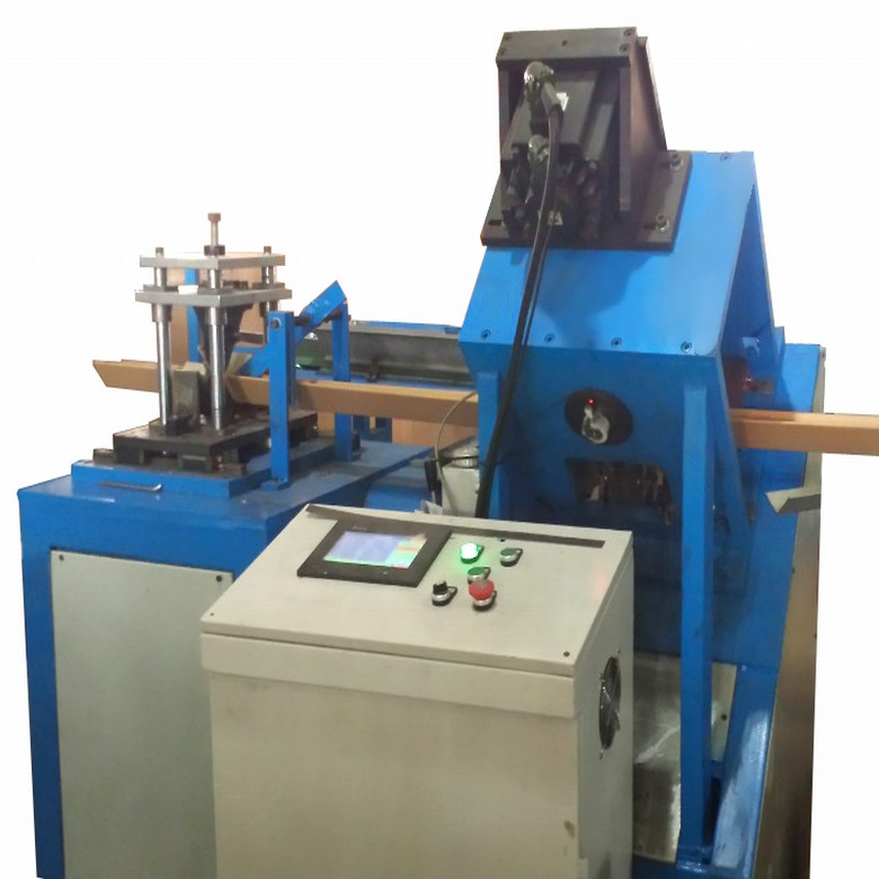 High efficiency u profile paper edge protector machine