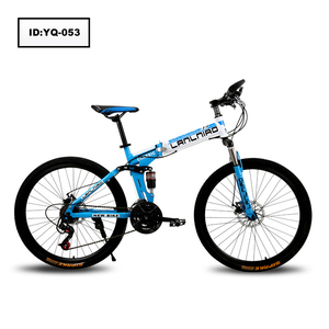 "2017 Factory Dropshipping 26"" High Carbon Steel Foldable Bicycle Folding Portable Bike"