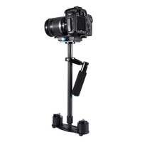 PULUZ 38.5-61cm Carbon Fiber Handheld Stabilizer Steadicam for DSLR & DV Digital Video & Cameras, Capacity Range 0.5-3kg