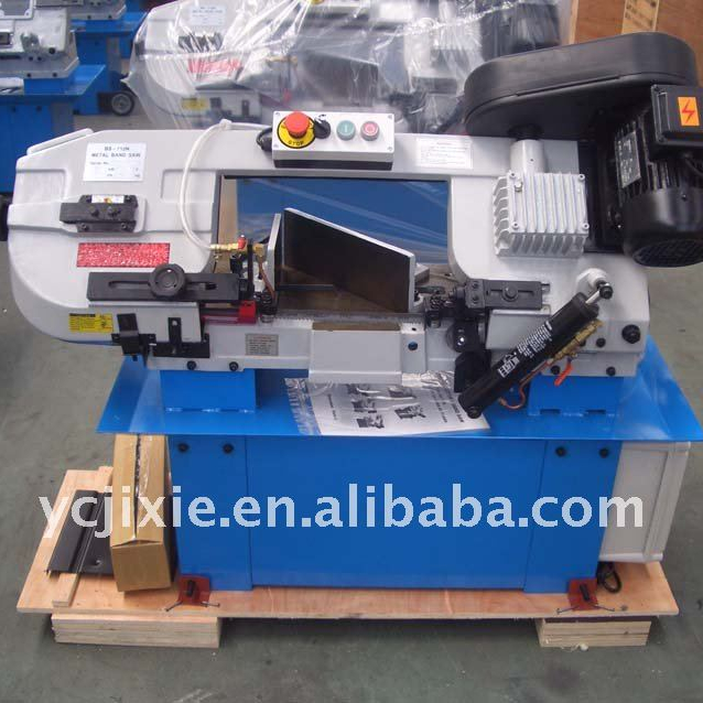 "BS712N 7"" metal cutting band saw machine"