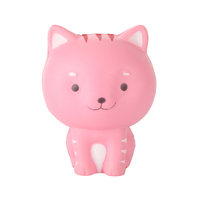 cute squishy cat gift PU toy stress ball and anxiety reducer soft and squishy creative PU toy - Toys Zone