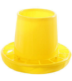 20kg and 15kg poultry feeder/plastic chicken feeder yellow color