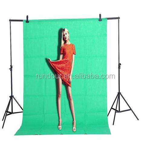 Fot-R 3x3m Photo Studio No Tejida telón de fondo de pantalla verde de fondo Chroma Key