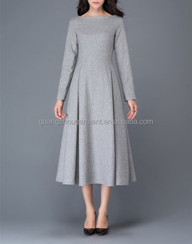 3101e609747c Womens Dresses Wool Dress Winter Long Dresses For Women Wear - Buy ...