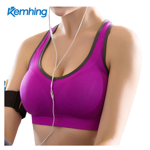 wholesale fitness gym running bra nude yoga tube sports bra sexy