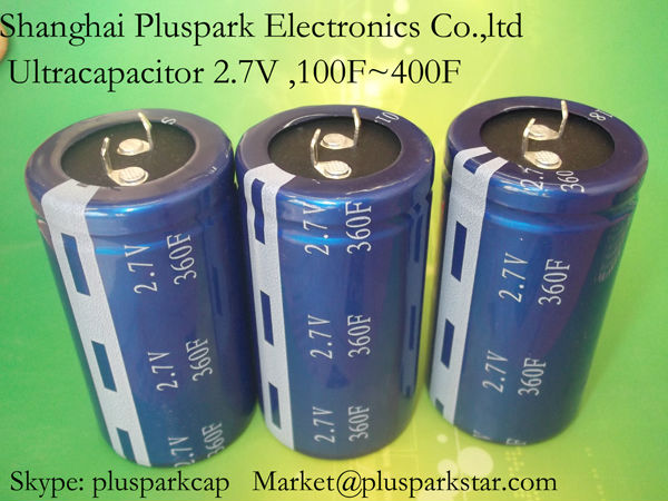 ultracapacitor 400F 2.7V,Super capacitor ,Electric double layer capacitor