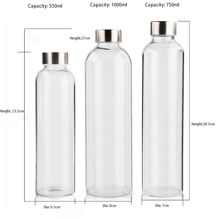 Water bottles with sleeve