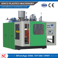 Factory supply mini extrusion bottle blow moulding machine