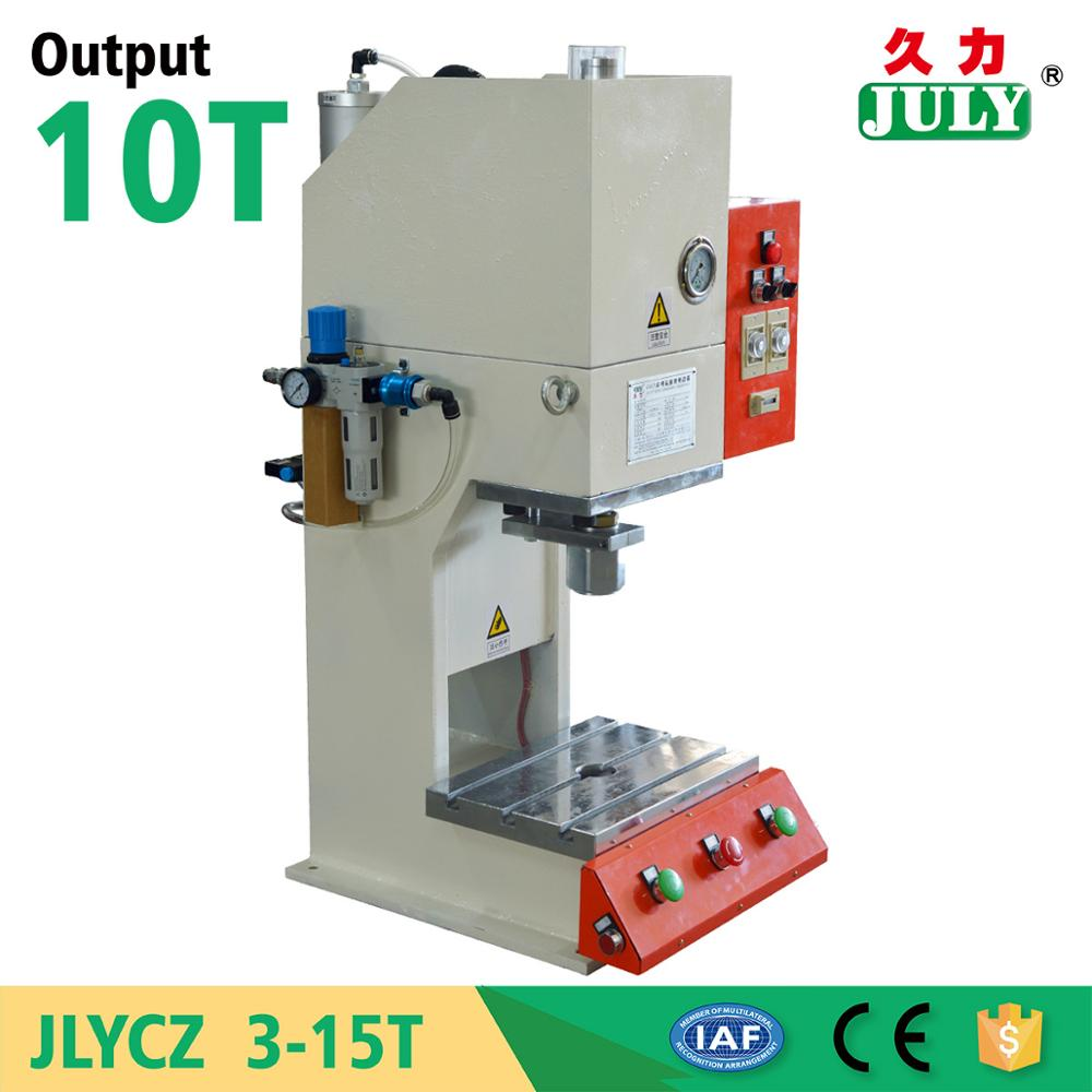 High sale JULY wholesale aluminum die cutting punch machine