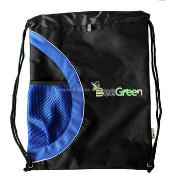 2bb075de5bf6 Customized high quality 420D polyester draw string backpack bag sports  drawstring backpack mesh bag