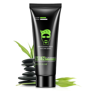 BEOTUA man acne blackhead pore cleansing Whitening moist oil control pore cleaner face wash bamboo facial cleanser