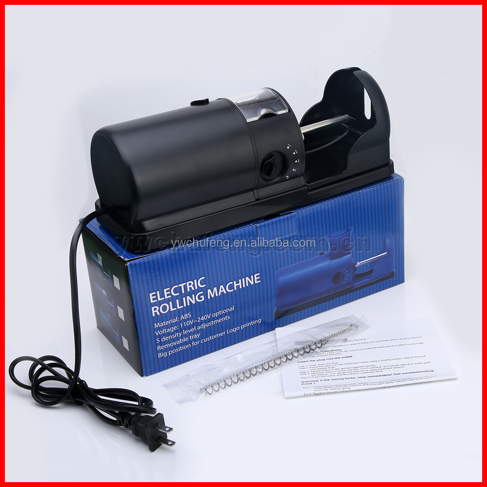 Free Shipping electric cigarette making <strong>machine</strong> cigarette rolling <strong>machine</strong> 110V US plug