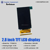lcd display module 2.8inch 240*400 bolier application display