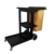 Multifunction Hotel Cleaning 3 Shelves Janitor Cart