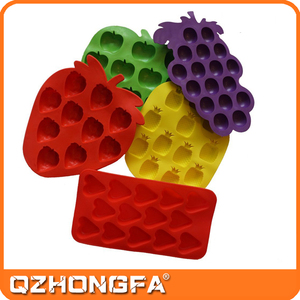 Fruit Shape Silicone Ice Cube Tray Fruit Shape Silicone Ice Cube