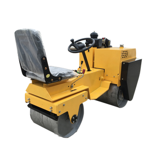 Hot sale high impact roller compactor heavier body vibratory road handle for