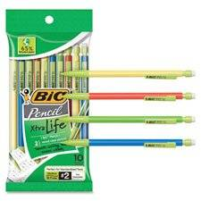Mechanical Pencils, .7mm, 10/PK, Assorted, Sold as 1 Package, 10 Each per Package