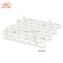 Plastic chicken egg crates 42 holes commercial egg hatching tray plastic for incubator
