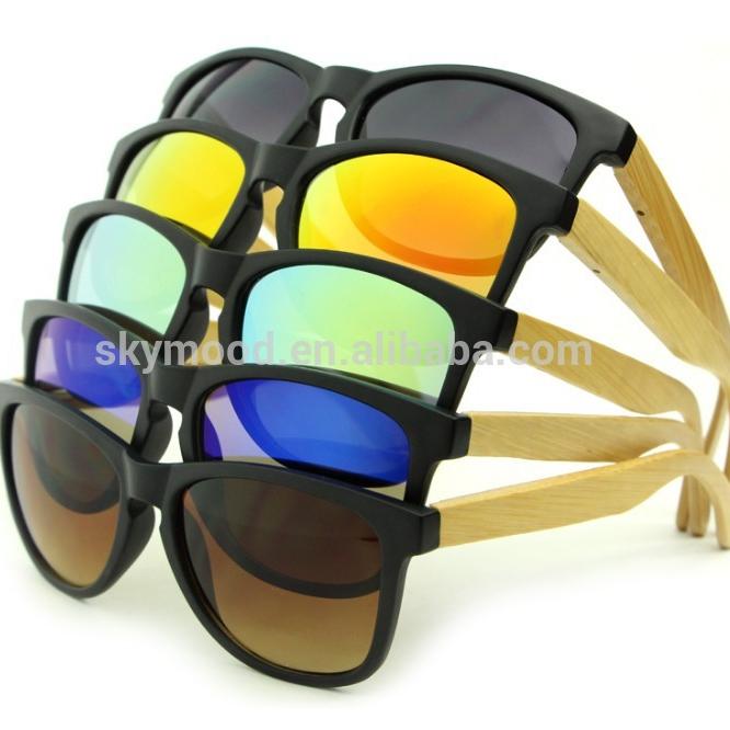 2019 Bamboo Temple As Sports Sun Glasses Custom Mens UV400 Polarized Sport Sunglasses