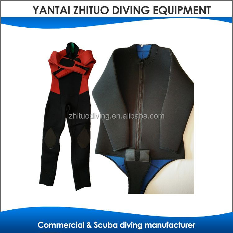 ce certificate first grade diving wetsuit jacket