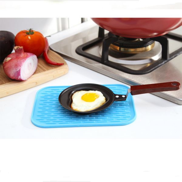 Hot Sale Heat-proof FDA LFGB approved silicone hot pad mat,silicone placemat,heat resistant silicone mat