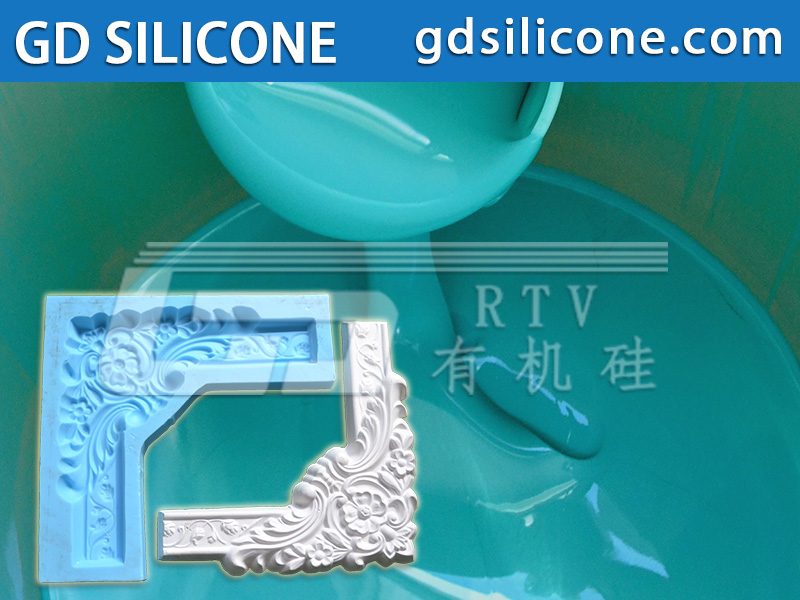 Liquid silicone rubber for making concrete stone GRC polyurethane products molds