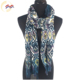 New Style colours stripe wool magic printed shawl scarf for ladies