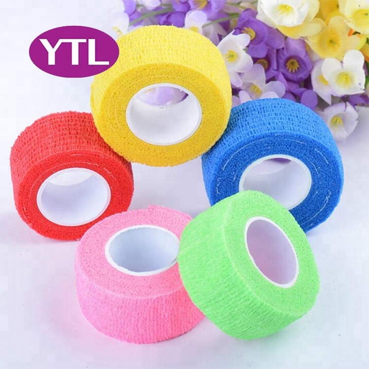 5CMX450CM Self Adhesive Elastic Bandage Non-woven Fabric Kinesiology Tape Protective Gear Knee Elbow Support Injury Pad