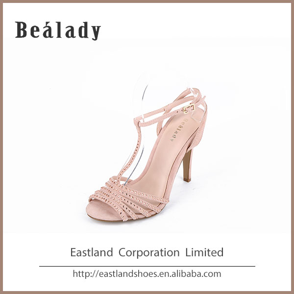 (ELS-178-2) Fancy comfortable tango latin salsa ballroom dance sandal shoes diamond sexy fashion lady shoes