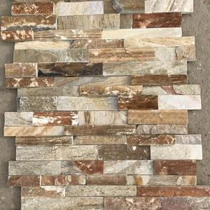Nice Quality Rough Face Slate Culture Stone Wall Claddings Panel