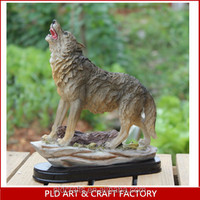 Wolf statue Christmas funny gift creative gift cheap wholesale home decoration