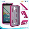 PC +silicone Rugged Hybrid Robot Kickstand Hybrid 2 IN 1 Cell Phone Case For BLU STUDIO X PLUS D770
