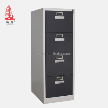 Lateral Steel Medical Drawer Cabinet School Office Furniture Metal Filing With 4