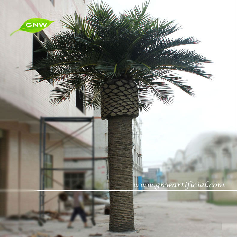 GNW APM030 Cheap outdoor plants Artificial palm tree plants for garden