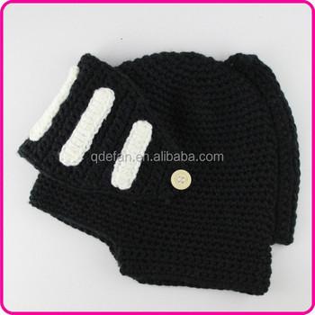56870e82a Knight Helmet Knitted Cartoon Character Winter Cotton Crochet Hat - Buy  Winter Cotton Crochet Hat,Cartoon Character Hat,Knight Helmet Knitted Hat  ...