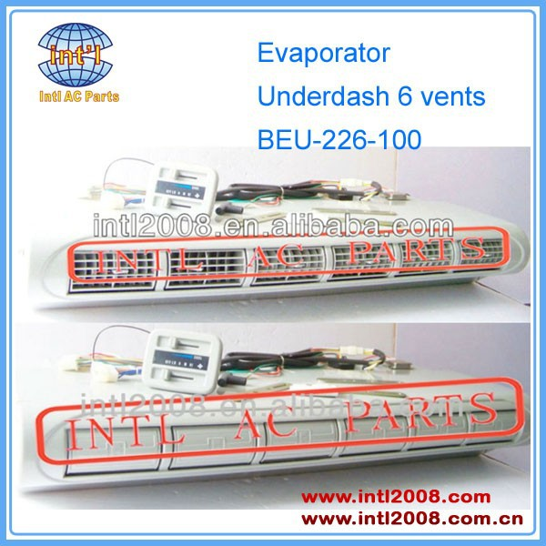 Underdash Ac Evaporator Assembly Beu-226-100 6 Vents