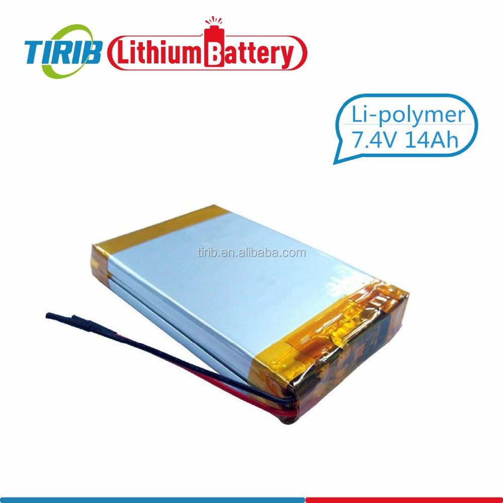 Low Self Discharge 14ah Lithium ion Battery Li Polymer Battery 7.4v 14000mah Lipo Battery