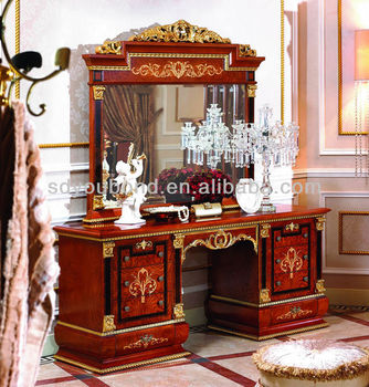 0038 Antique Makeup Dressers With Mirrors Classic Italian Dressers
