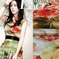 printed silk fabric pure silk price