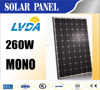 Hot seller Factory directly sale Guaranteen quality High efficiency mono crystalline65 cells 250w 260w 270w black solar panel