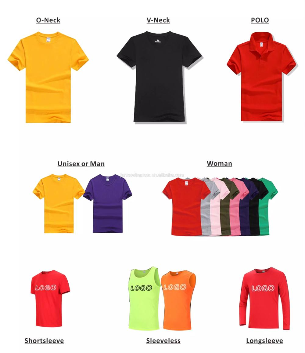 Factory Colors Advertising Design Color Polo T Shirt