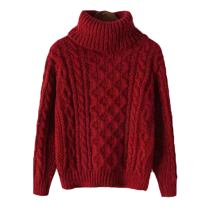 2015 New Autumn Winter Turtleneck Sweater Mohair Loose Knitted Sweater Casual Long Sleeve Women Sweaters and Pullovers Feminino