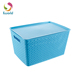 High Quality Mesh Toy Plastic Cube Storage Box With Lid