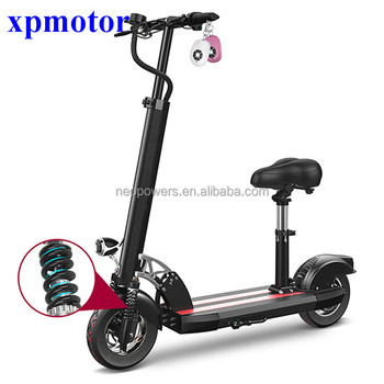 10 Inch 500w Mini Electric Motor Scooter For S Shock Absorbing Foldable E